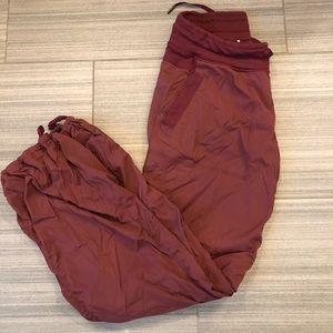 Lululemon studio pants - lined